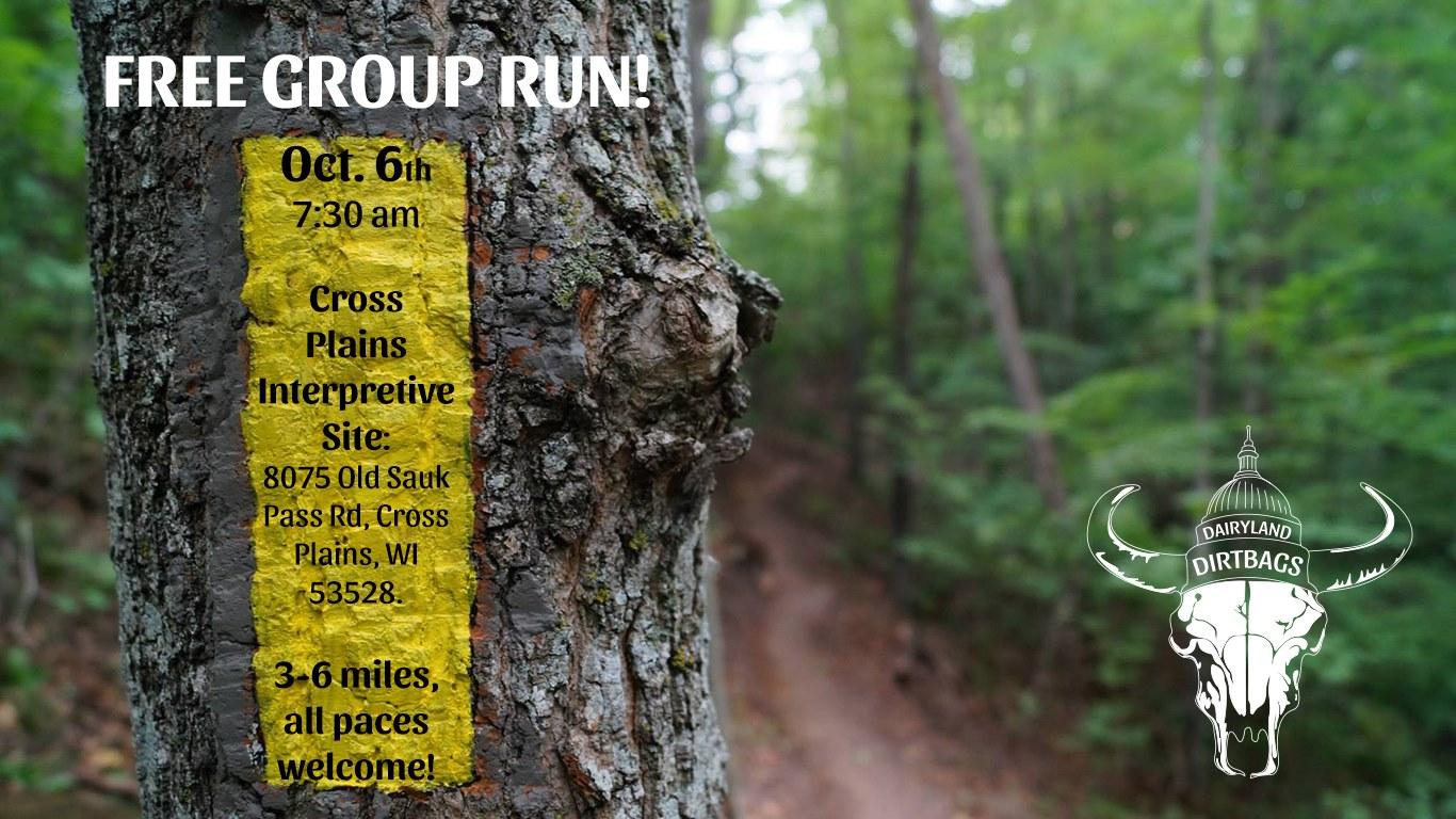 Fall Frolic Trail Run with Fleet Feet Madison & Sun Prairie
