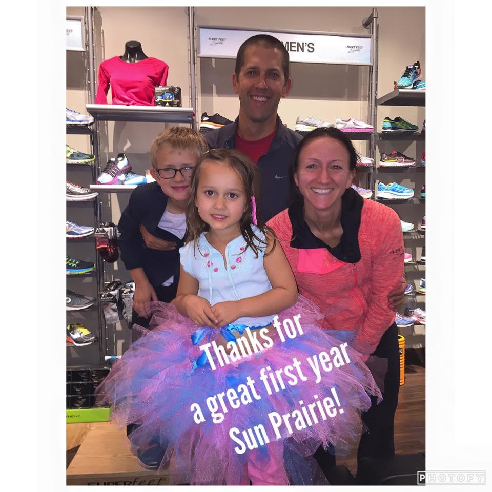 Fleet Feet Sports Sun Prairie Celebrates One Year Anniversary