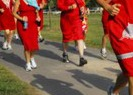 Red Dress Dash at Fleet Feet Sports Madison