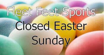 Happy Easter from Fleet Feet Sports
