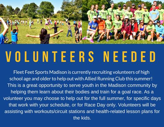 Allied Running Club Volunteers