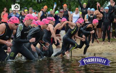 Pardeeville Triathlon Sponsored by Fleet Feet Sports Madison & Sun Prairie