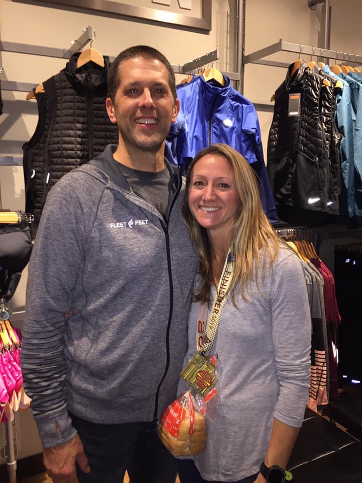 Matt & Jessica Anderson Owners Fleet Feet Sun Prairie