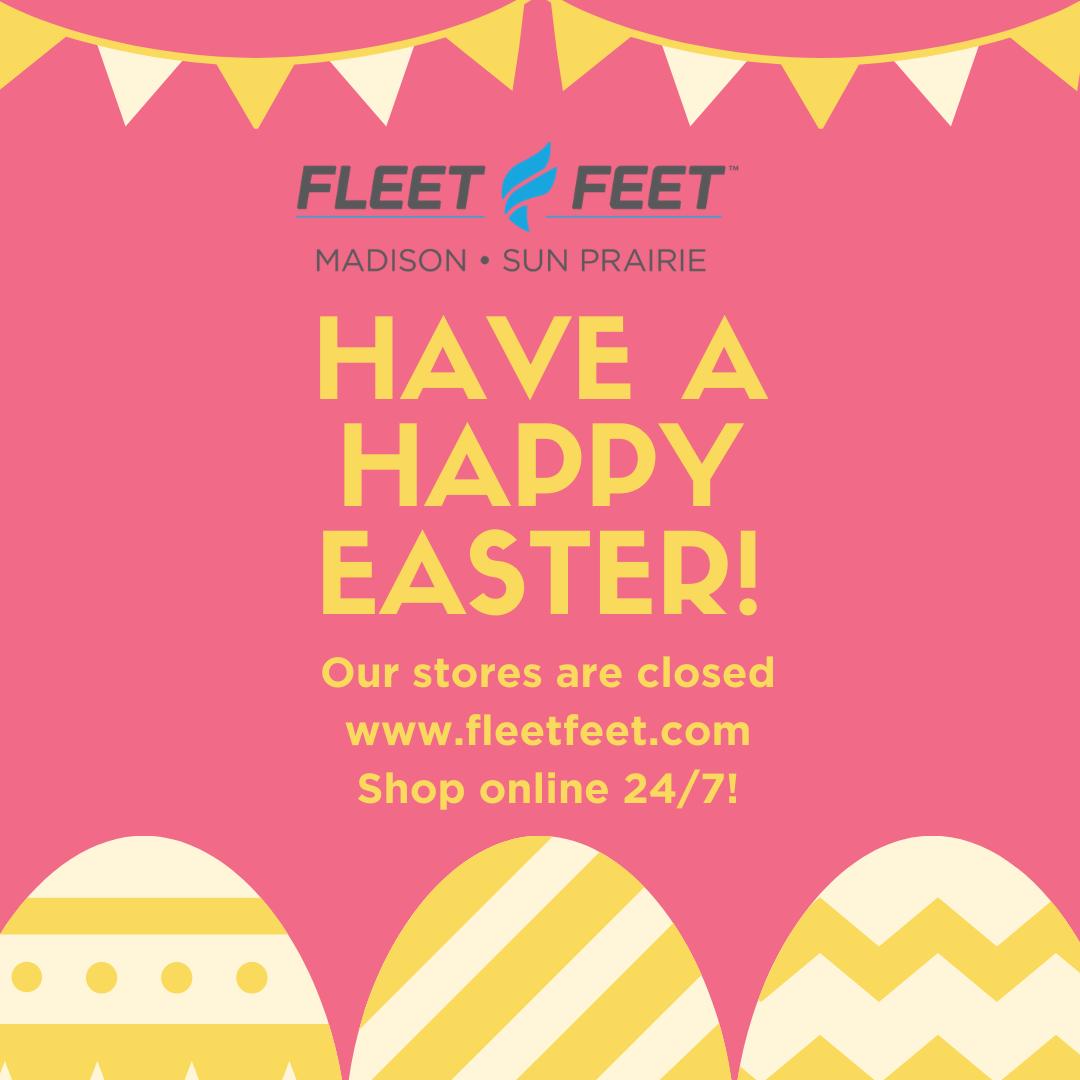 Happy Easter from Fleet Feet Madison & Sun Prairie