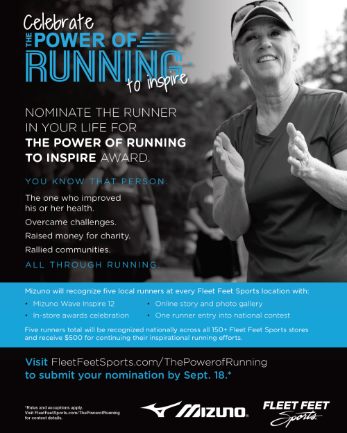 The Power of Running to Inspire Awards