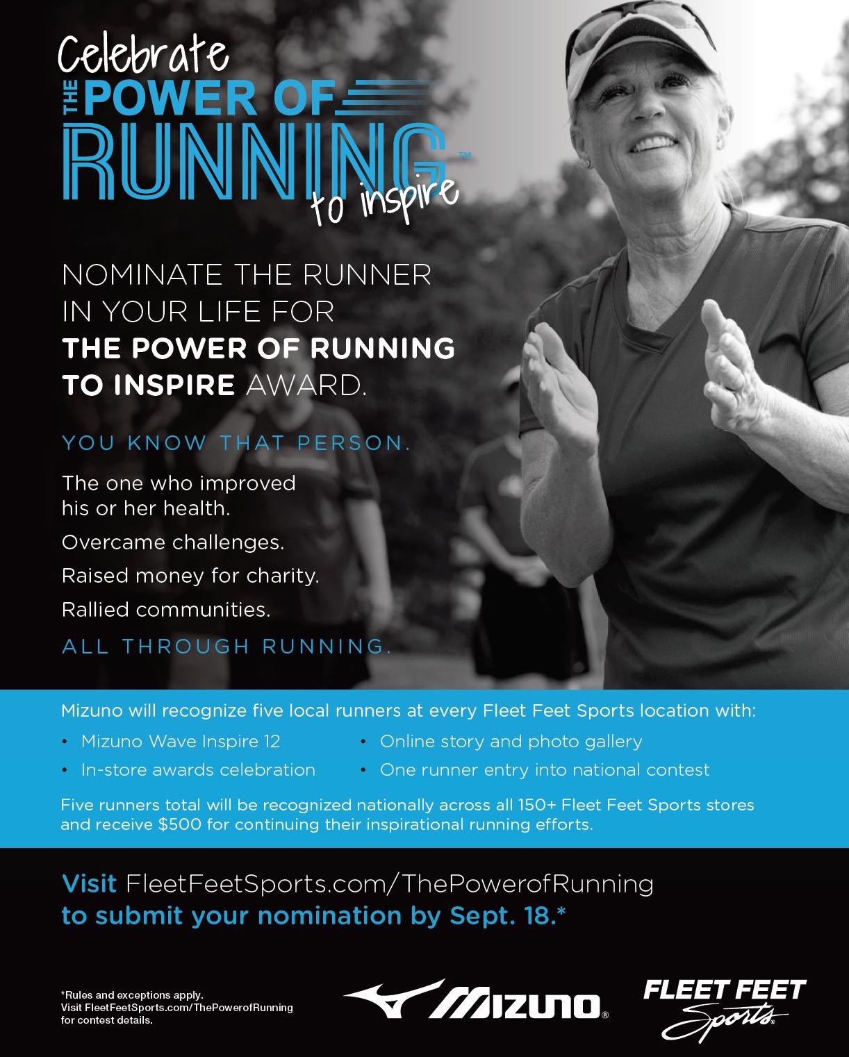 The Power of Running to Inspire at Fleet Feet Sports Madison & Sun Prairie