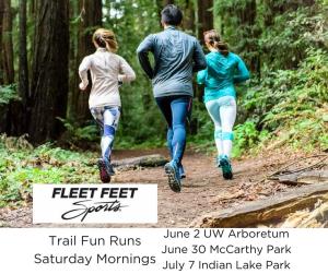 Trail Run Club Fleet Feet Sports Madison & Sun Prairie