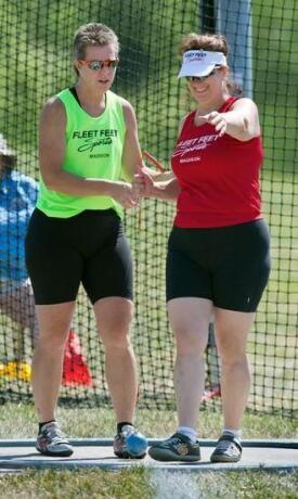 Kathy & Kim Fleet Feet Sports Madison Athletes