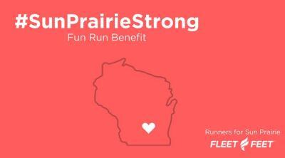 Sun Prairie Strong Fun Run Fundraiser at Fleet Feet Sun Prairie