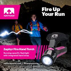 Nathan Zephyr Fire Hand Torch Fleet Feet Sports Madison & Sun Prairie
