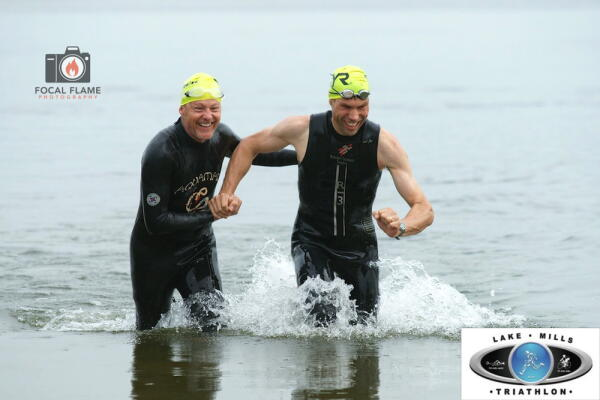 Lake Mills Triathlon Sponsored by Fleet Feet Sports Madison