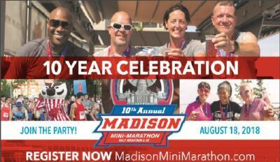 Madison Mini Marathon & 5 K Sponsored by Fleet Feet Madison & Sun Prairie
