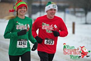 Run Santa Run Sponsored by Fleet Feet Sports Madison & Sun Prairie