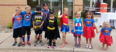 Superhero 5K Run Madison WI Sponsored by Fleet Feet Sports Madison & Sun Prairie