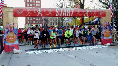 Madison Marathon & Half Marathon sponsored by Fleet Feet Madison & Sun Prairie