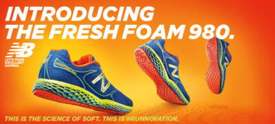 New Balance Fresh Foam 980 at Fleet Feet Sports Madison