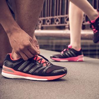 Adidas Boost Sequence at Fleet Feet Sports Madison