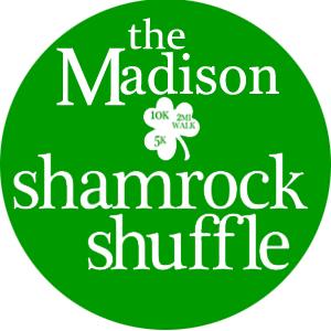 The Madison Shamrock Shuffle sponsored by Fleet Feet Madison & Sun Prairie