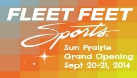 Fleet Feet Sports Sun Prairie Grand Opening