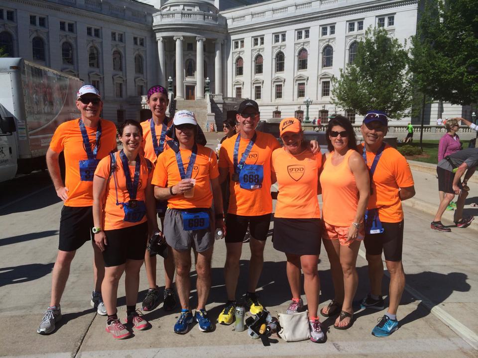 Force of Orange Training with Fleet Feet Madison and Sun Prairie