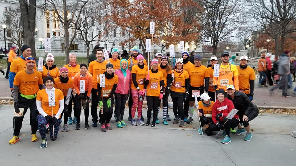 Fleet Feet Pacers for Madison Marathon
