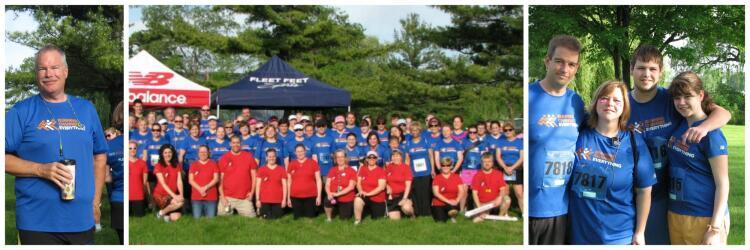 New Balance and Fleet Feet Sports No Boundaries training for fall of 2013