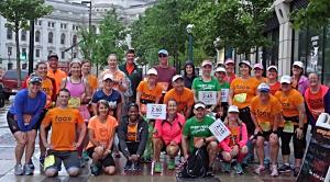 Force of Orange Training sponsored by Brooks Running