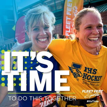 It's Time To Do This Together at Fleet Feet Sports Madison & Sun Prairie
