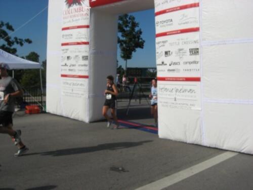 Rachel Finish Line