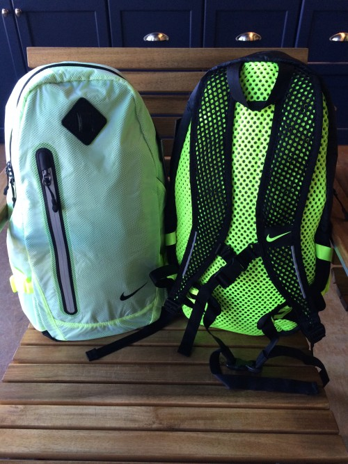 0e0e6cd3ebea Lightweight hypervoid mesh   durable ripstop fabric create a perfect fit  for runners. The Vapor Lite Running Backpack by Nike has adjustable straps  ...