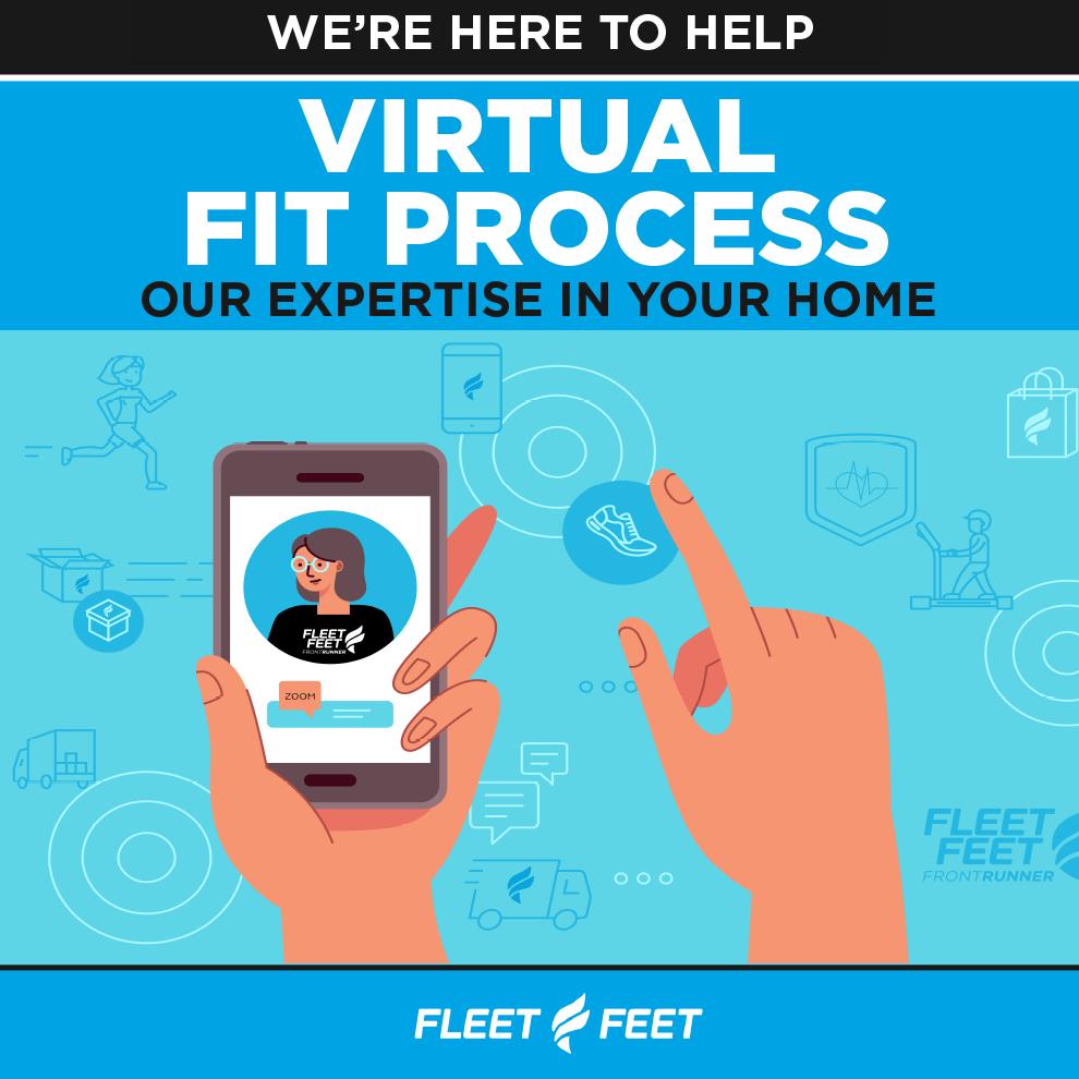 Fleet Feet + FrontRunner COVID-19