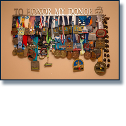 Medals to honor donors