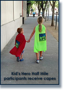 Kids in Donate Life Capes