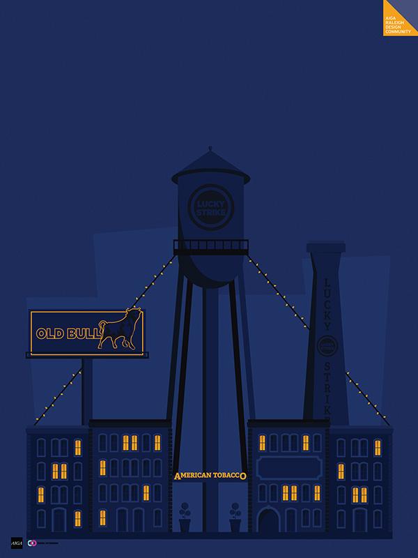 AIGA Centennial Poster Project - Ashley Bennett