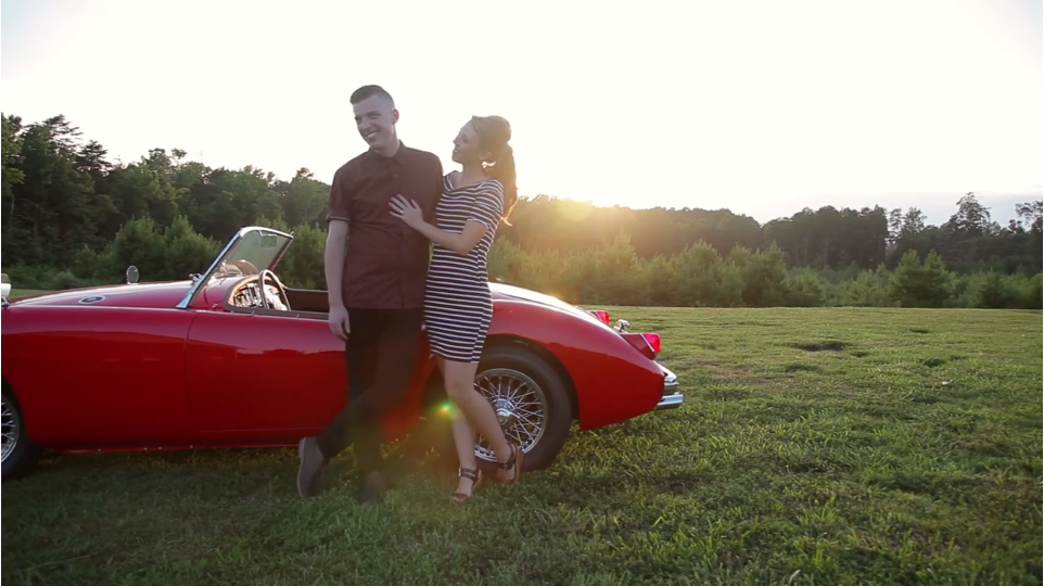 Sixties Engagement Video
