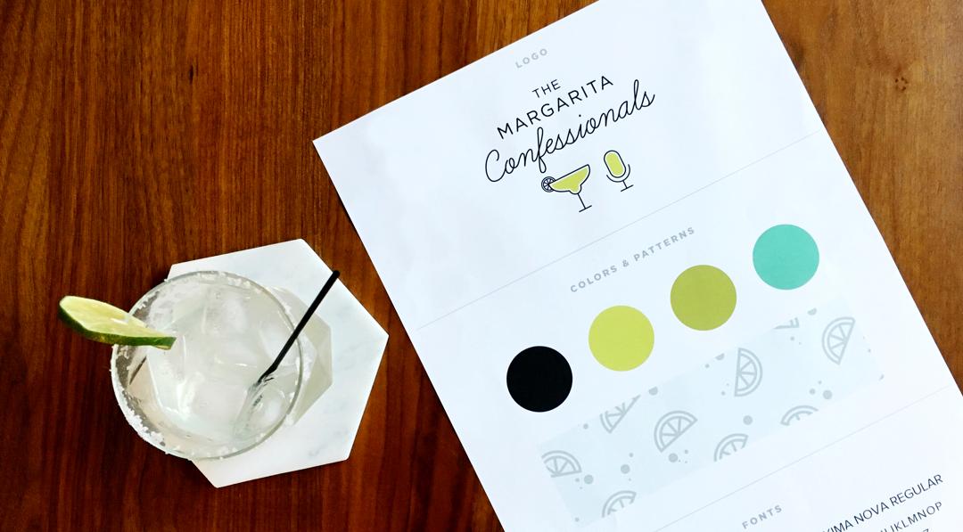 Margarita Confessionals Branding