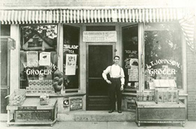 NY 1940's Grocery Store