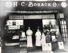 NY Bohack Grocery Store Circa 1950