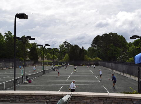 CHCC Tennis Lesson and Lunch for 8