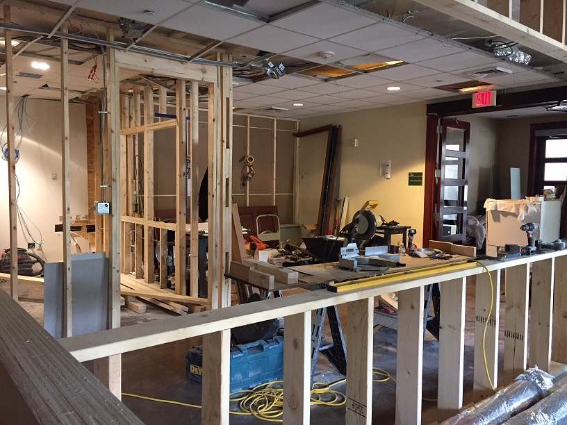 Lobby Renovation in March 2018