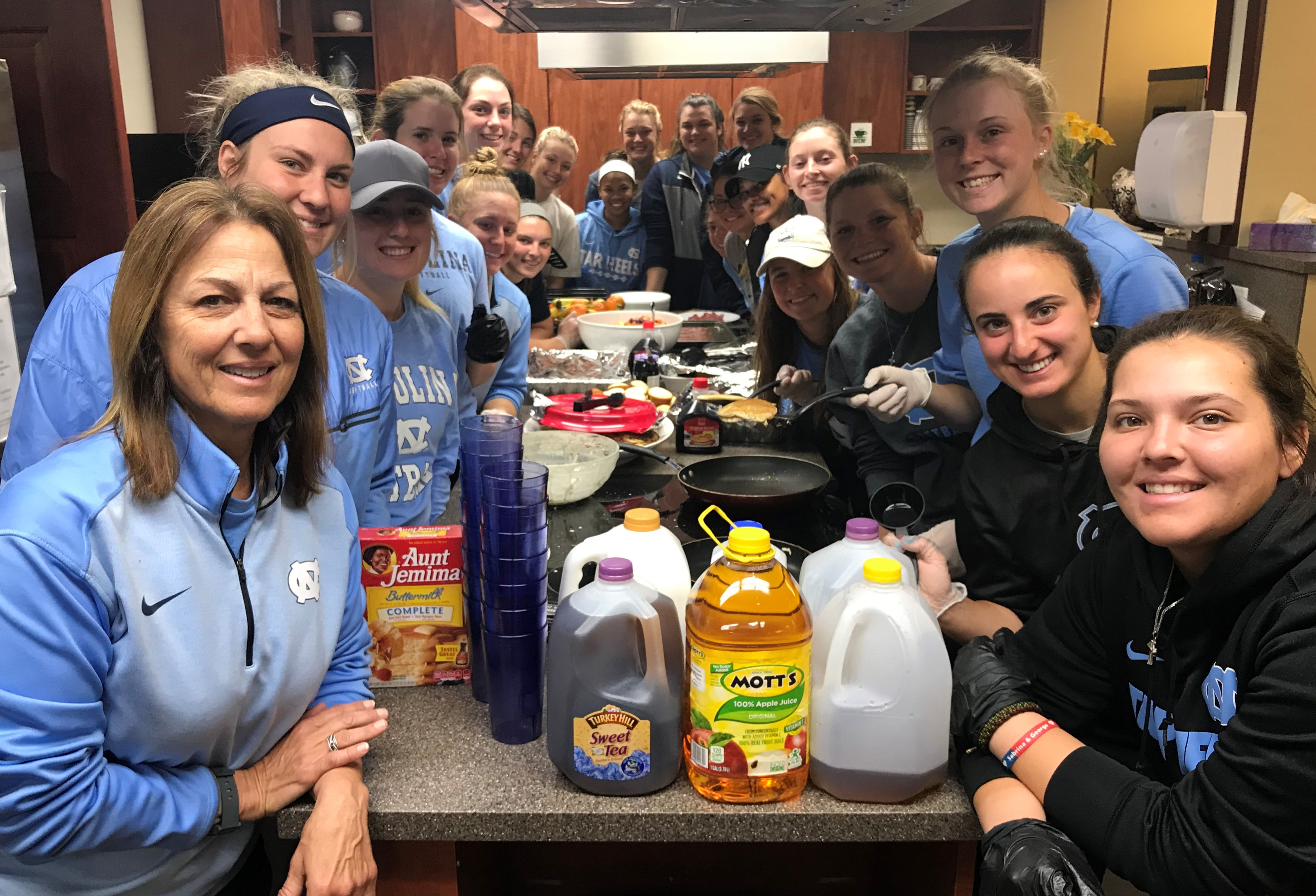 UNC Women's Softball Team