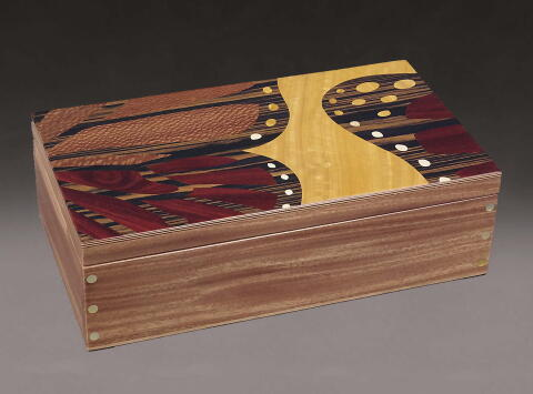 Handcrafted Butterfly Jewelry Box
