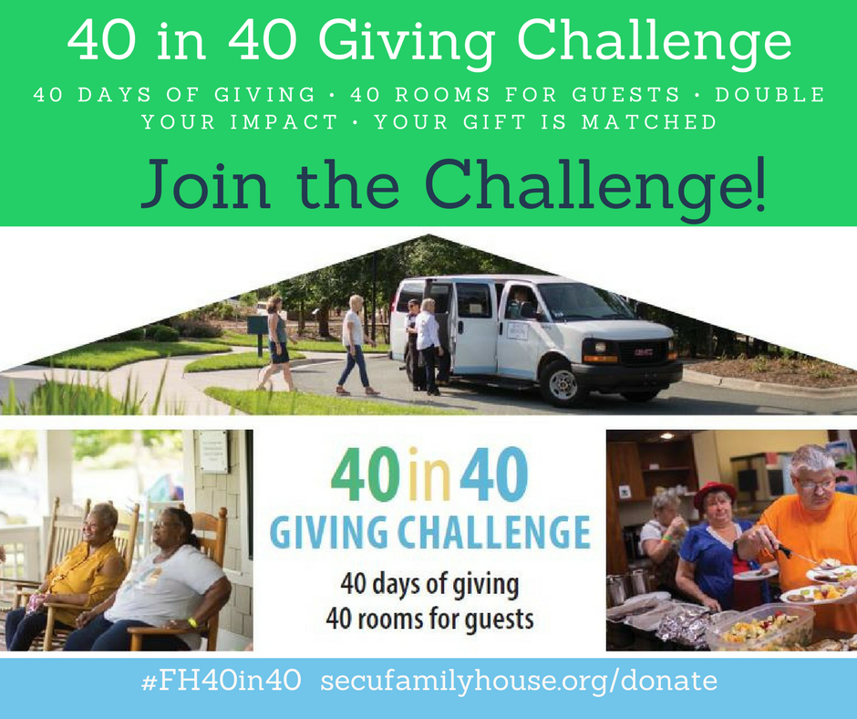40in40 Giving Challenge