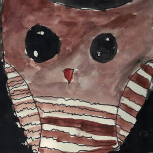 Owl (Watercolor) - Karla