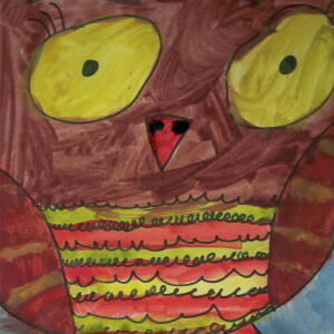 Owl (Watercolor) - Kenzie