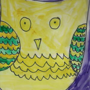 Owl (Watercolor) - Sophie
