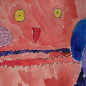 Owl (Watercolor) - Yaritza