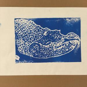 Printmaking - Isiah