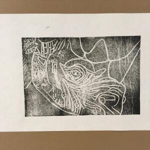Printmaking - Amy