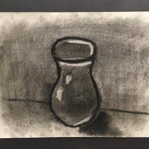Still Life (Charcoal) - Cassandra